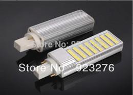 Wholesale PLC led downlight G24 E27 E26 B22 led bulb W smd leds Cool white warm white V energy saving indoor lamp PLC505040
