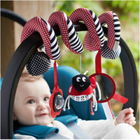 Cheap Wholesale-Mamas Papas Brand Baby Toys Multifunctional Baby Rattle Toy Baby Mobile Bed Bell Safety Mirror