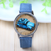 Wholesale Colors New Arrival Fei Fan Brand Fabric Belt Wrist Watch Car Pattern Fashion Watch piece BW SB