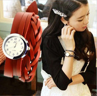 Wholesale New Style Genuine Cow Leather Fashion Hot Sell Personality Bracelet Watch TOP quality logo is design of dragonfly