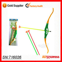Cheap Wholesale-Free shipping! 2015 new 5pcs Hunger Games sucker shooting bows for children kids safe outdoor sports toys soft arrow MISSILES