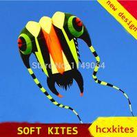 kite fabric - new design square meters trilobites soft kite with line ripstop nylon fabric kite weifang festival hcxkite hot