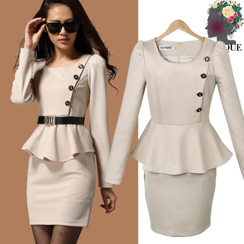 Beautiful Korean Casual Dress For Women 2014 Korean Casual Dress 2014