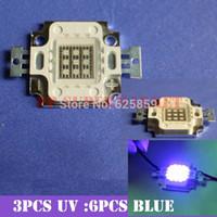 actinic bulb - W Actinic Hybrid Royal blue mm UV high power led light bulb