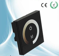 Wholesale LED Dimmer V Touch Panel Dimmer Switch DC12V V for LED Strip LED Lights Bulbs Home Lamps Dimmable CE ROHS
