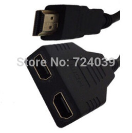 Wholesale HDMI Splitter Cable to Male to Female M F HDMI Adapter Converter drop Shipping