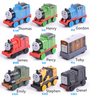 Wholesale Electric Thomas and friend Trackmaster engine Motorized train Chinldren kids plastic toys gift