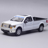 pick up truck - scale models classical Ford F150 pick up truck toy car red blue white