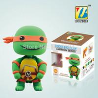 bonnie baby - BONNIE Superheroes Handgum Polymer Clay Plasticine play dough DColorful DIY Teenage Mutant Ninja Turtles Michelangelo Orange