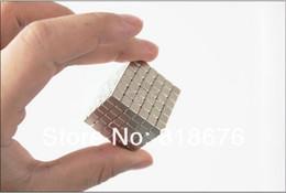 Aimant néodyme forte en Ligne-Gros-deux ensembles Freeshpping-216 magnétique Bucky Cubes Rare Earth néodyme 4mm aimants puissants Desktoy