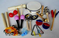 Wholesale Orff instruments kits children percussion musical instruments