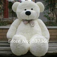 big teddy bear - Free shipiping FEET BIG TEDDY BEAR STUFFED Colors GIANT JUMBO quot size cm Dark Brown Light Brown White Pink