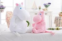 baby valentine gift - Genuine cm cartoon Moomin Valley plush toys color Moomin Hippo dolls baby toy cute muumi Snorkmaiden Girls Valentine gift