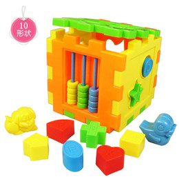 Wholesale Raw material abs shape mental case multifunctional combination building blocks toy