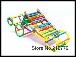 Wholesale pack Kids Plastic Smart Stick Blocks Educational Building Blocks Kits Sets for Children s Creativity