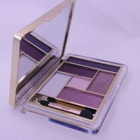 Wholesale Fashion Orignal top Brand new makeup brow powder eyeshadow palette colors branded eyeshadow with mirror and eyeshadow brush