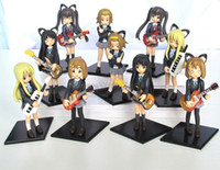 Wholesale K ON Hirasawa Yui Akiyama Mio Japan Anime Figure Toys Set of NEW K ON