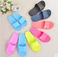plastic slippers - New Home summer slippers wood flooring indoor lovers slip resistant plastic slippers for women amp men