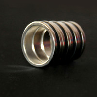 Wholesale large size Easy to Use Magical Magic Tricks Magic Ring Props PK Strong Magnetic Rings