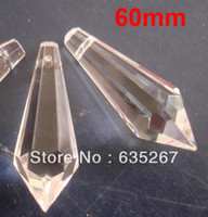 Wholesale mm CRYSTAL ICIDIE U PRISM PENDANT FOR DIY CRYSTAL strand PENDANT GARLAND chandelier PENDANT