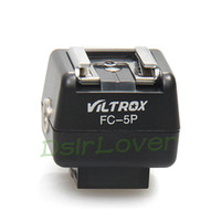 adapter for canon - New Camera Flash hot shoe Adapter for Canon Nikon Wireless Flash Controller FC P