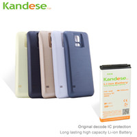 Wholesale KANDESE Brand New High Capacity mAh Li ion repalcement Extended battery for Samsung Galaxy S5 i9600