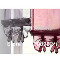Wholesale New Liftable kitchen balcony voile blinds Sheer living room tulle curtains Good Quality