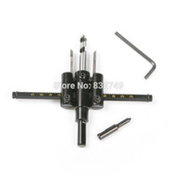 Wholesale Adjustable Wood Drywall Circle Hole Drill Cutter Bit Saw Use mm to mm Circle Hole Saw