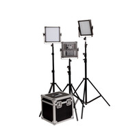 Wholesale F V Ultra High Power Dimmable Panel K4000 LED Video Light Kit K with Mount Plate Power Adapter Filter Box D1603