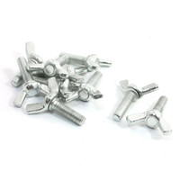 Wholesale 10 Hardware Replacement Metal Winged Screw Bolts mm x mm