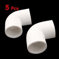 Wholesale 5 x Degree Equal Elbow PVC U Pipe Slip Coupling Fitting mm x mm