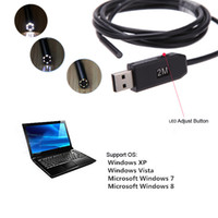 snake scope camera - New Waterproof M Cable mm USB Inspection Borescope Endoscope Snake Scope Camera Micro Cameras LED H13922
