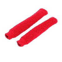 Wholesale Badminton Racket Anti Slip Elastic Towelling Grip Red