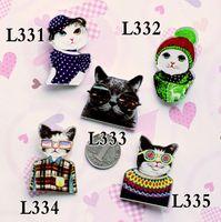 christmas pins - Good Quality acrylic broochs HARAJUKU badge Brooch accessories cat pin christmas gift