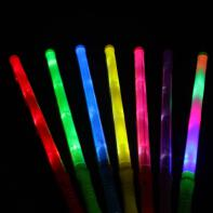 LED Magic Wand Color Changing Flash Torch Glow Light Stick f...