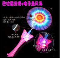 2015 New LED music flash windmill toy, led Windmill, Electric...