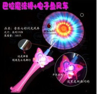 plastic windmill toy - 100pcs New LED music flash windmill toy Windmill Electric music windmills colorful and retail