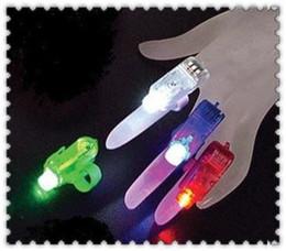 300pcs lot Christmas Gift Laser finger finger flashlights, LED Laser Finger light led light(No packaging) Free Shipping