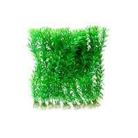 Wholesale 10 Pieces Green Fish Tank Grass Aquarium Plants Decoration
