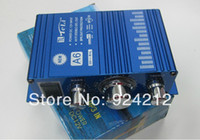 audio amplifiers - New Mini Hi Fi Audio Stereo Amplifier For Cars Motorcycle Boat Home V Booster A6 Speaker