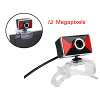 Wholesale 360 Degrees Rotary M Megapixel USB HD Webcam Camera Web Cam with Built in MIC Mini Clip for PC Laptop C2002