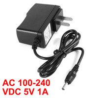Wholesale US Plug VAC mm x mm DC V A Power Supply Adapter Cord Lead Black