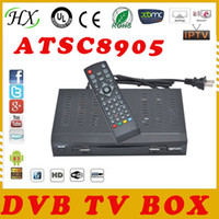 Cheap 2014 Hot South Korea and Honduras,Canada,Mexico and United States HD ATSC digital TV BOX receiver DVB TV box digital tv tuner