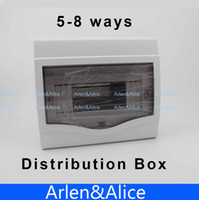 Wholesale 5 ways Plastic distribution box for circuit breaker indoor on the wall