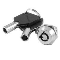 Wholesale Cabinet Door Quarter Turn Security Tubular Cam Lock w Keys