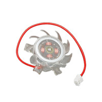 Wholesale 38mm Pin Cooling Fan Cooler Clear for Computer VGA Video Card