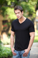 bamboo t-shirt - Bamboo fiber man T shirt year end promotions bamboo fiber manufacturing soft and comfortable