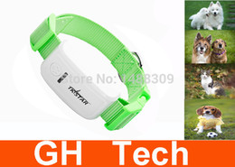 Wholesale New Mini pet gps tracker waterproof IPX6 Real Time Tracking System on Web and APP through Android IOS for dog cat collar