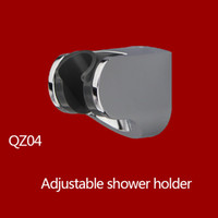 Wholesale Chrome Plated ABS Shower Holder Wall Mounted hand shower holder bracket base shattaf Holder