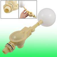 ball valve floats - 1 Inch PT Thread Water Sensor Float Plastic Float Valve Floating Ball